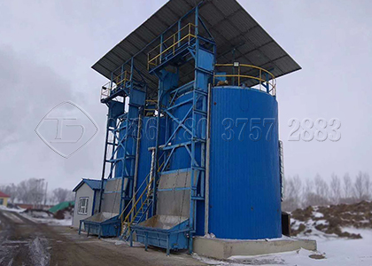 In vessel composting equipment