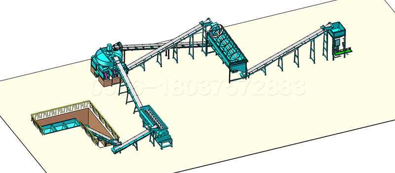 Double Rolloer Granulator Fertilizer Production Line