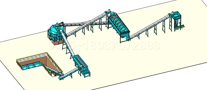 Double Rolloer Granulator Fertilizer Production Line